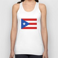 puerto rico Tank Tops featuring Puerto Rico by McGrathDesigns