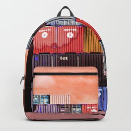 Colorful containers I Backpack