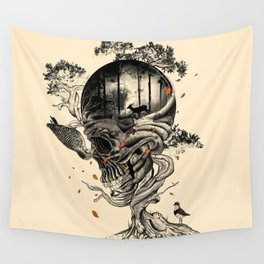 Lost Translation Wall Tapestry