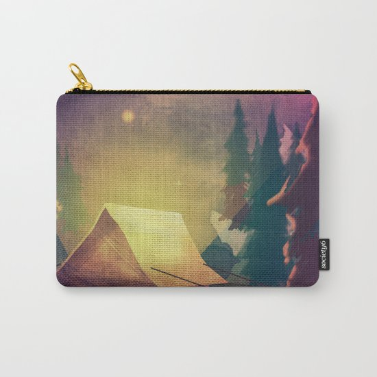 Night in th forest Carry-All Pouch