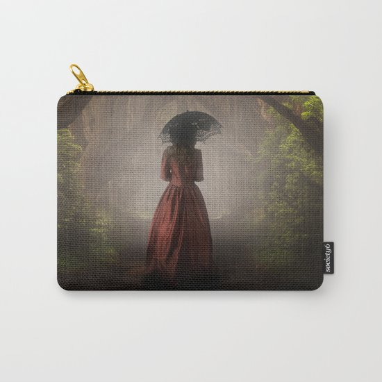 Satin red dress Carry-All Pouch