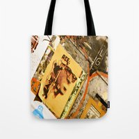 ace Tote Bags featuring Ace by Global Graphiti