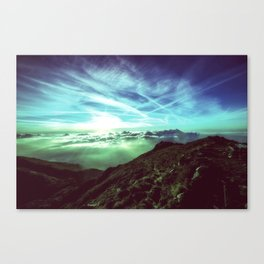 In the mountain Canvas Print