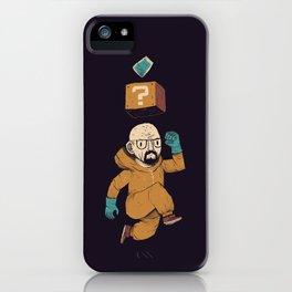 heisenberg power up iPhone Case