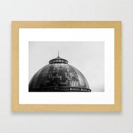 Bele Isle Conservatory Dome Framed Art Print