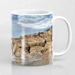 Rocks and Clouds Seascape Coffee Mug