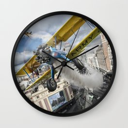 Street Air Race Wall Clock