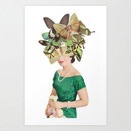 Looking Fly Art Print