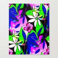 botanical Canvas Prints featuring Botanical by Sartoris ART