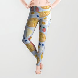 Breakfast Food Leggings