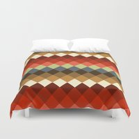 spice Duvet Covers featuring Spice by Moki