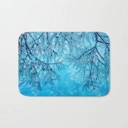 Winter vibes Bath Mat
