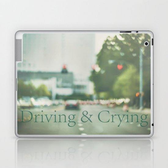 Driving & Crying Laptop & iPad Skin