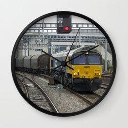 Cardiff Heavy Freight  Wall Clock