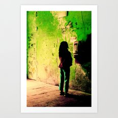 Green Series Art Print