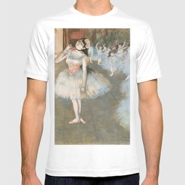 The Star (ca 1879-1881) painting in high resolution by Edgar Degas T-shirt