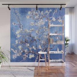 Vincent Van Gogh Almond BlossomS Blue Wall Mural