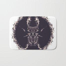 Beetle/Lucanus cervus Bath Mat