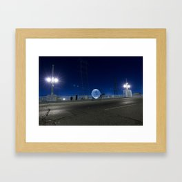 Alien Orb Framed Art Print