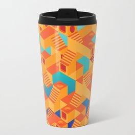 Escher cube Travel Mug