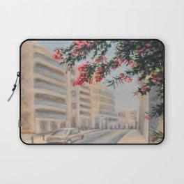 Eilat street Tel aviv_ Oil on canvas Laptop Sleeve