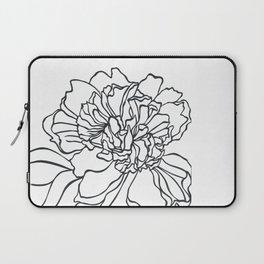 Paper-cut Peony Laptop Sleeve