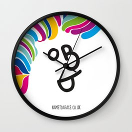BOB DYLAN – NAME TO A FACE Wall Clock