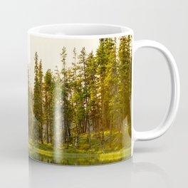 Sun Stream Through the Trees Coffee Mug
