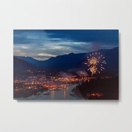 Canada Day Celebrations in Squamish Metal Print