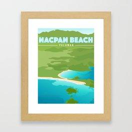 Nacpan Beach Framed Art Print