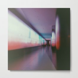 Light Wall Metal Print