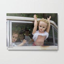 Dolls gone wild Metal Print
