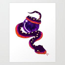Snake Piece #30 - Independent Materia Art Print
