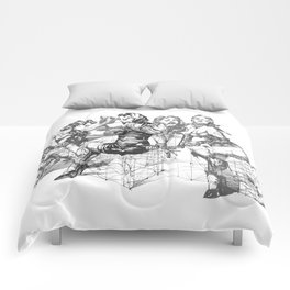 Love and Geometry Comforters