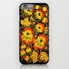 Flower Design iPhone 6 Slim Case