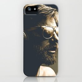 Painting man iPhone Case
