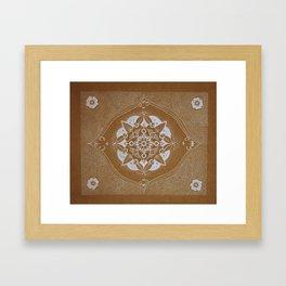 Mother Mandala Framed Art Print