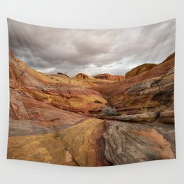 Canyon Overlook - Valley_of_Fire_State_Park, Nevada Wall Tapestry