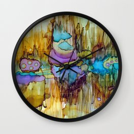 Cosmic Resonance Wall Clock