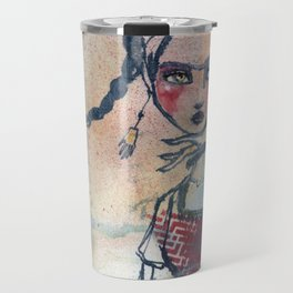 Frida is an Emotion by Jane Davenport Travel Mug