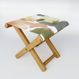 Great New Heights Abstract Folding Stool