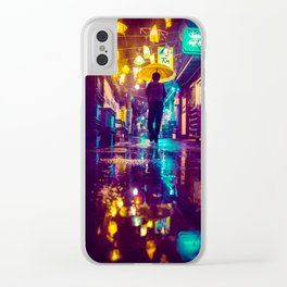 Lanterns Clear iPhone Case