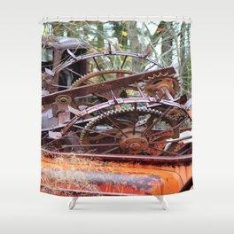 gears Shower Curtain