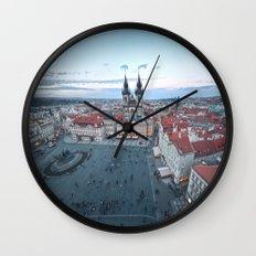 Praha Wall Clock