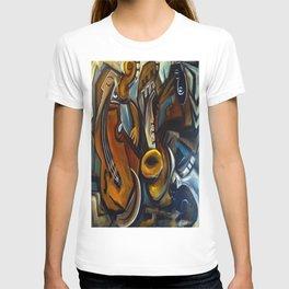 Black Cat Jazz T-shirt