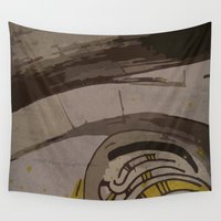gemma Wall Tapestries featuring Abstraction INC II by Magdalena Hristova