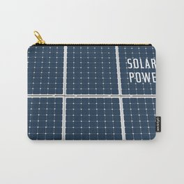 Solar Cell Panel Carry-All Pouch