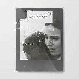 Regina and Henry Mills Metal Print