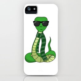 Slytherin Sunglasses iPhone Case