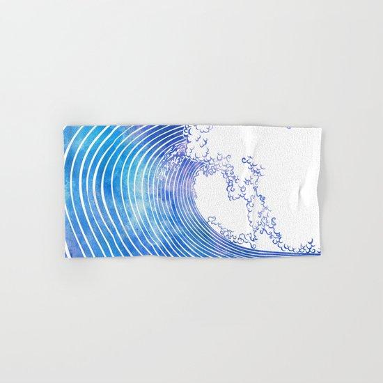 Pacific Waves III Hand & Bath Towel